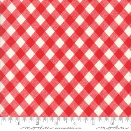Bonnie Camille Ruby Red Gingham