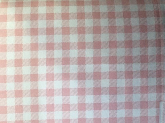 Buffalo Check Flannel Baby Pink