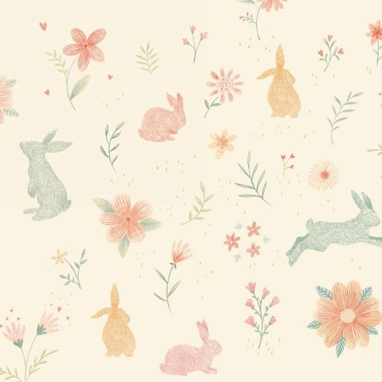 Bunny Tales Bunnies in Pink