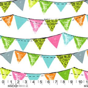 Party Bunting in Aqus