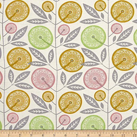 Cali Mod Floral Stock in Cactus by Joel Dewberry -- 100% RAYON