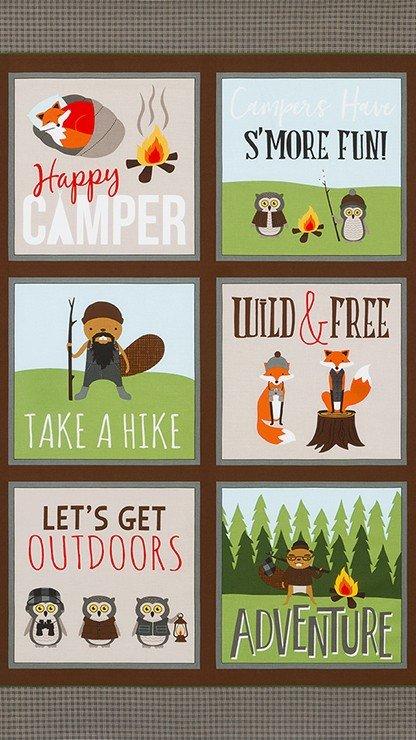 Campsite Critters Panel