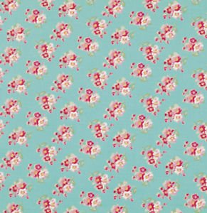 Cherry Blossom in Teal