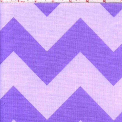 Medium Chevron in Lavendar