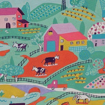 Countryside in Berry from Alexander Henry Fabrics