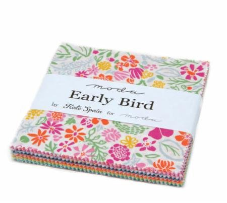 Early Bird Charm Pack by Moda