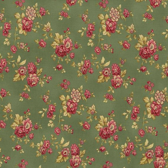 Esprit Maison Small Floral Green