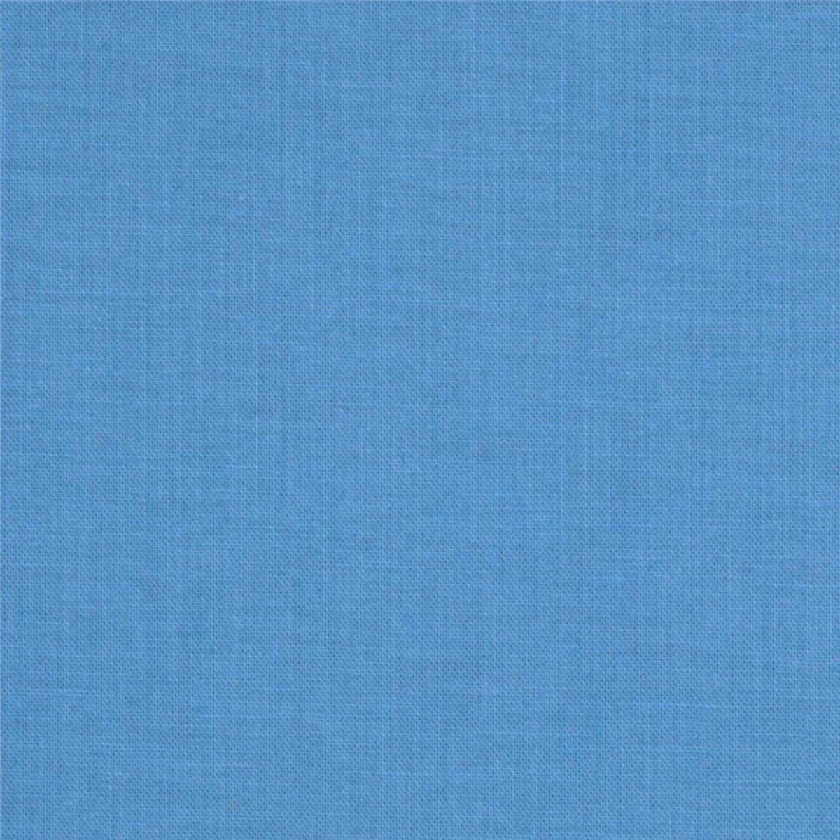 Kona Cotton in Blue Jay for Robert Kaufman