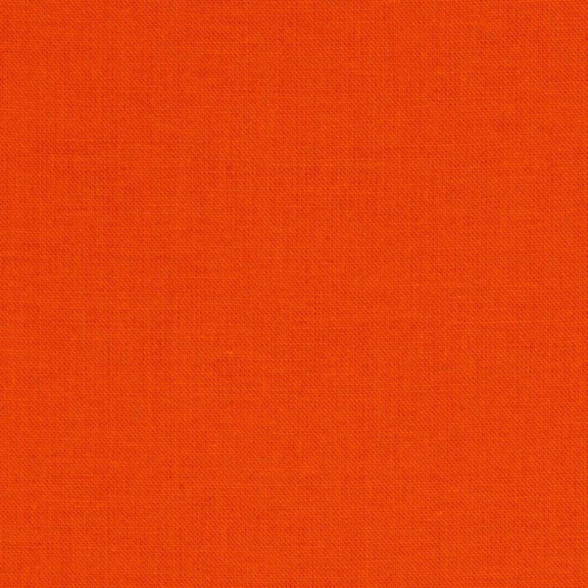 Kona Cotton in Carrot for Robert Kaufman