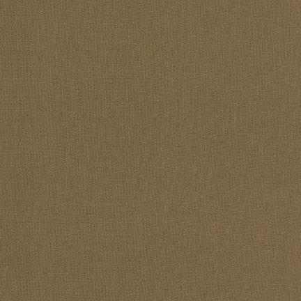 Kona Cotton in Bison for Robert Kaufman