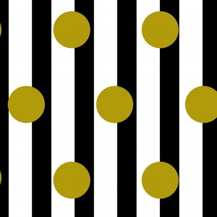 Gold Party Oxford Stripes by Cosmo
