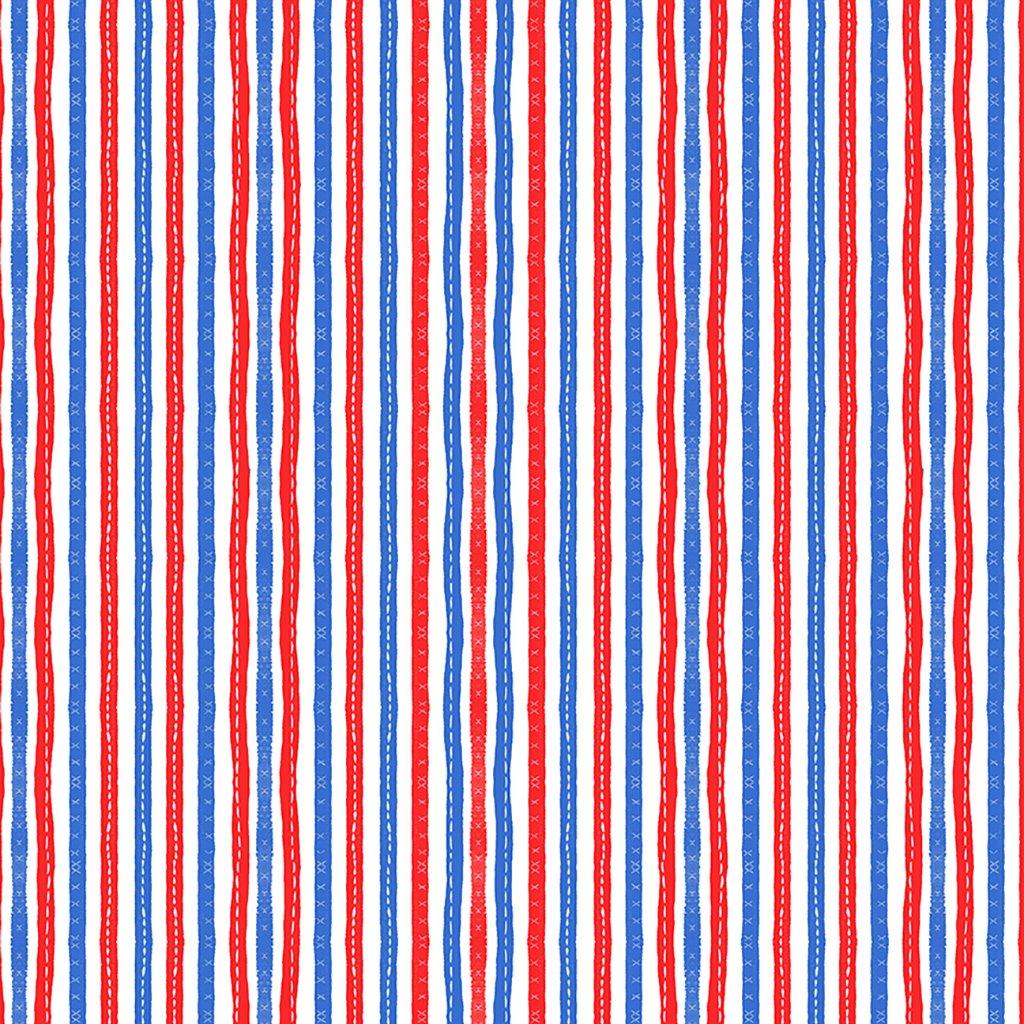 America the Beautiful Stitched Stripe in Multi