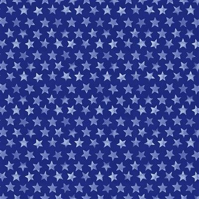 American the Beautiful in Light Navy Stars
