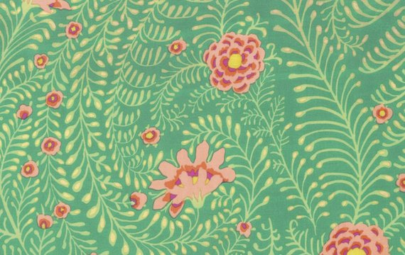 Kaffe Collective - Ferns in Green
