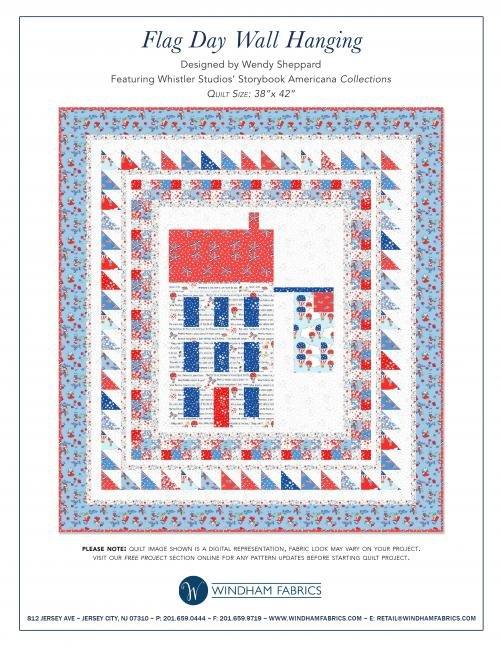 Flag Day Kit in Storybook Americana Fabrics
