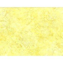 Batik - Floral Mix Yellow from Wilmington