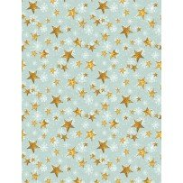 Friendly Gathering -- Teal Stars