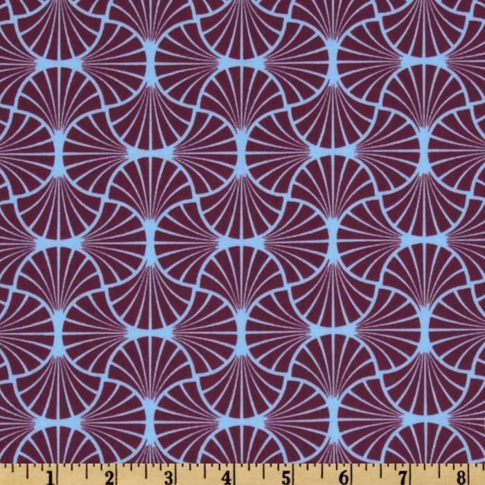 Heirloom - Empire Weave in Amethyst by Joel Dewberry