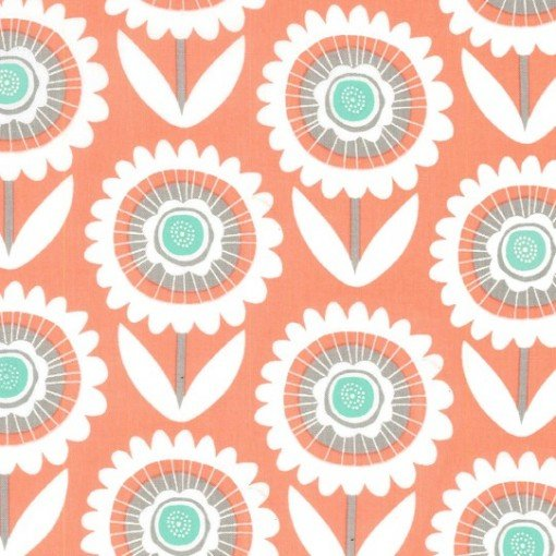 Hello Sunshine in Peach by Michael Miller Fabrics