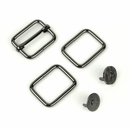 Holly Hardware Kit- Gunmetal