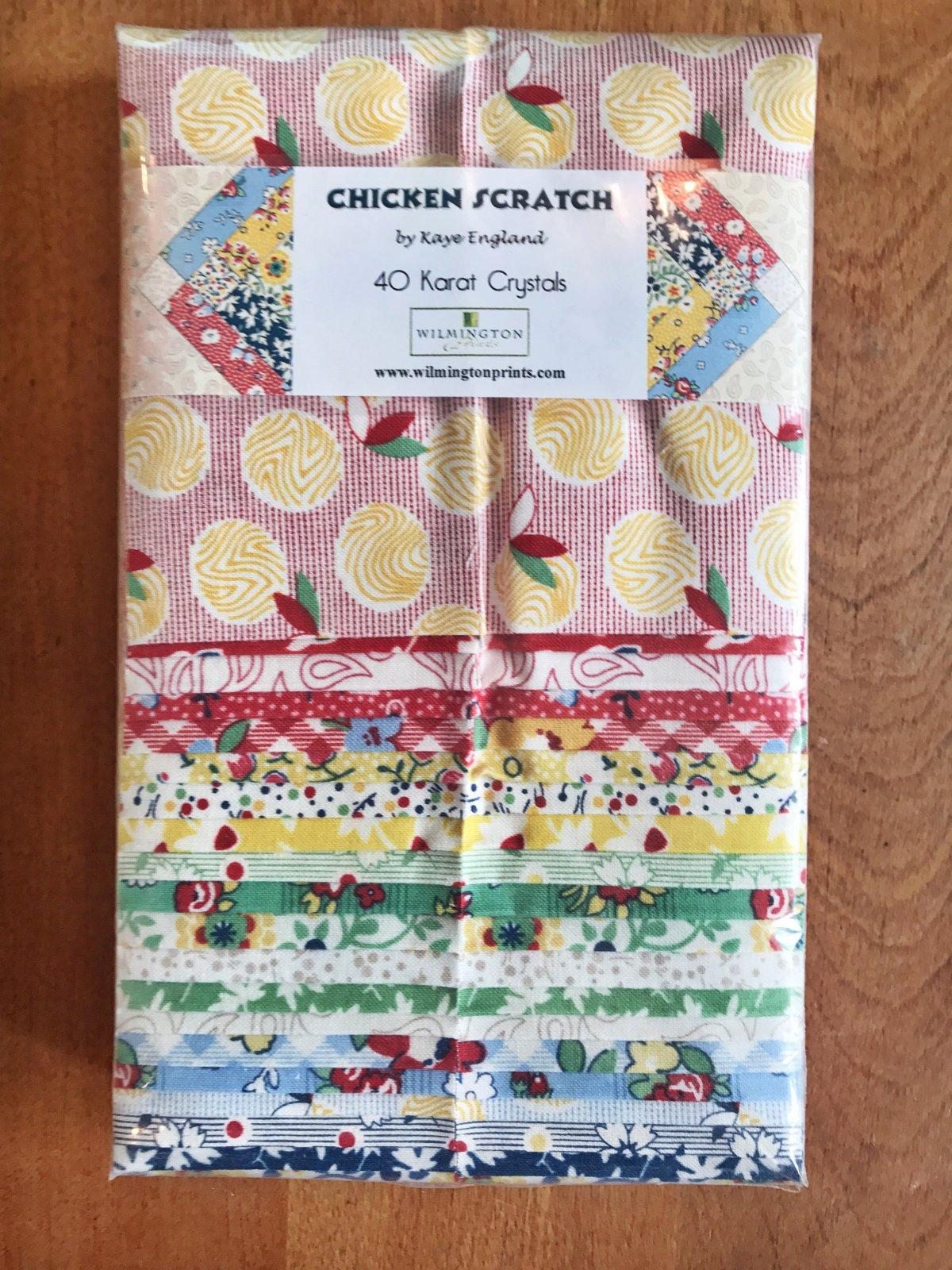 Chicken Scratch 40 Karat Crystals