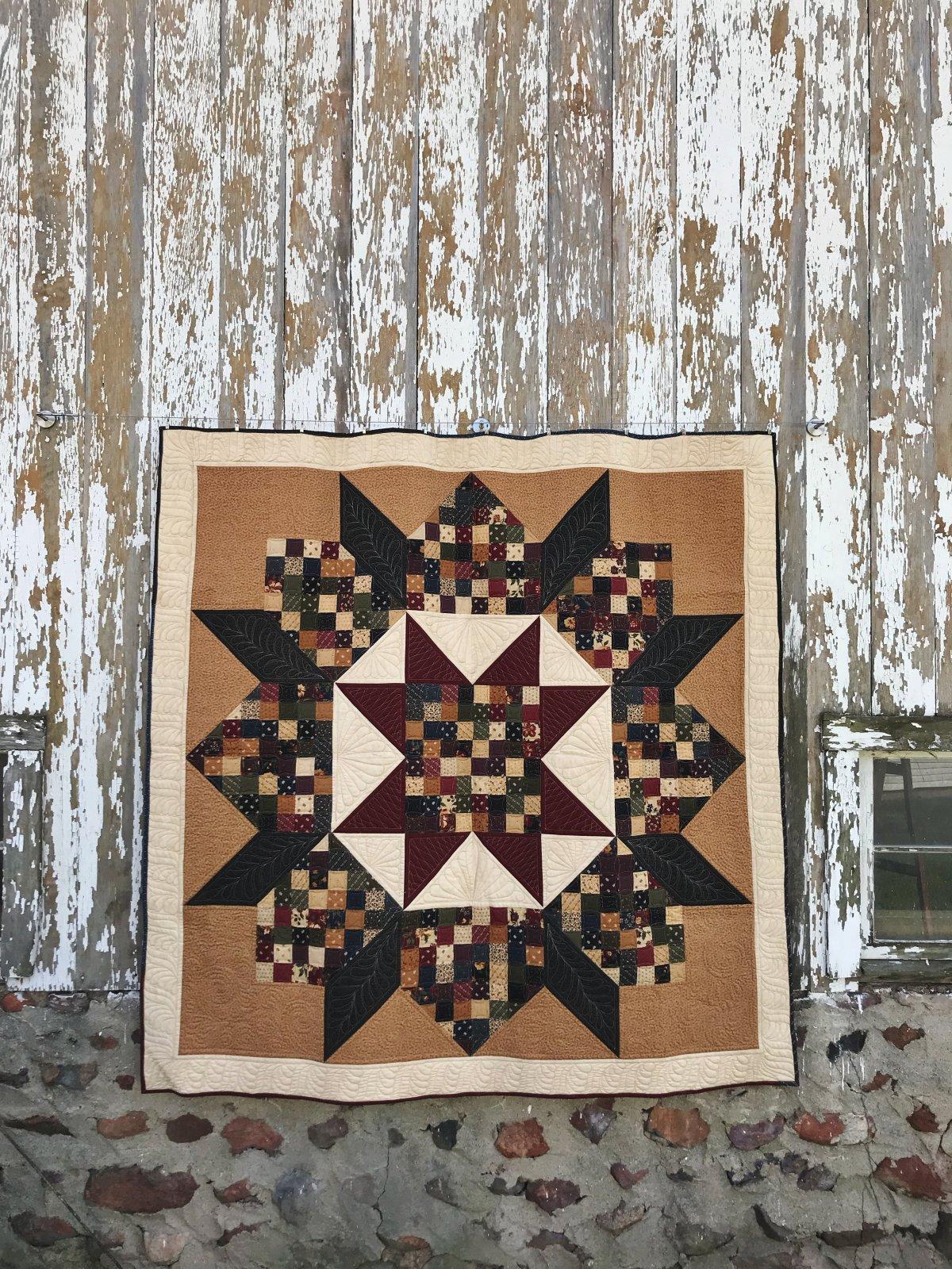 Patchwork Swoon Quilt