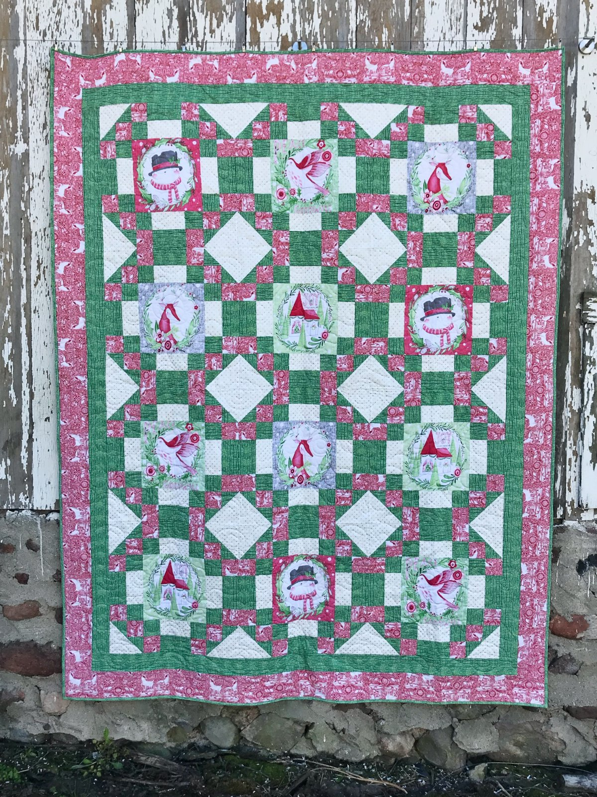 Cori-Nation Quilt Pattern - PAPER