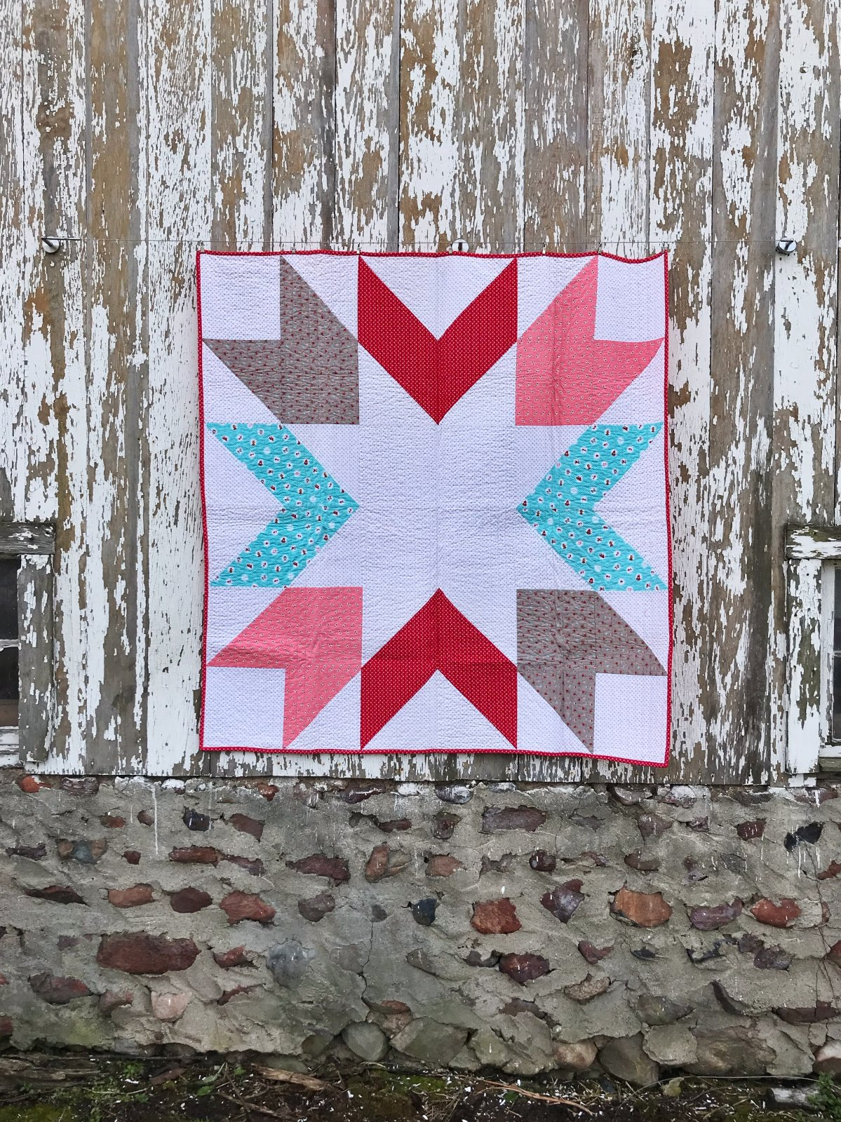 Little Red Star Quilt