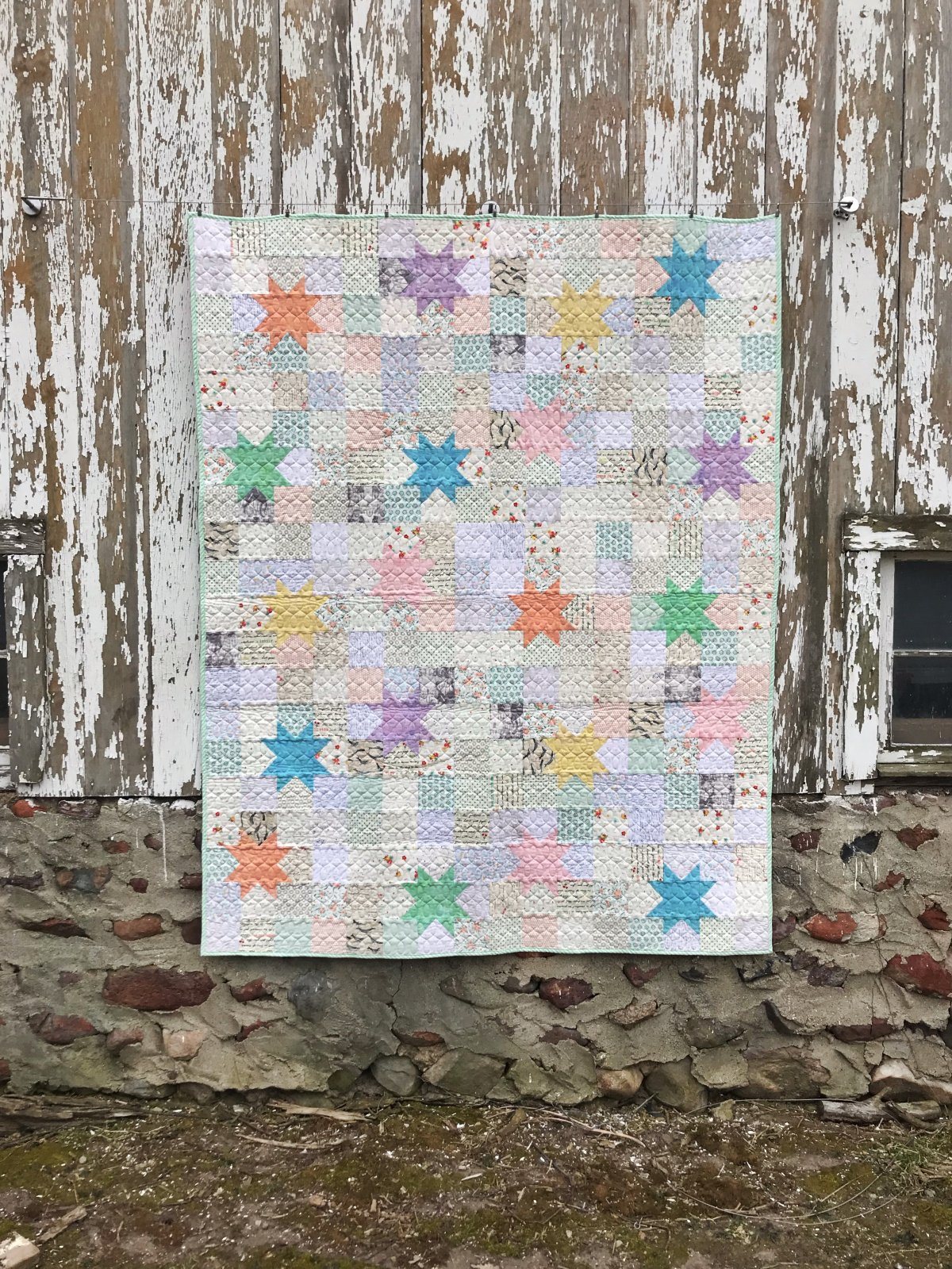 Macaroon Stars - PAPER COPY