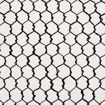 In The Kitchen A Chicken Wire from Alexander Henry Fabrics
