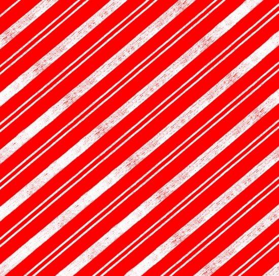 Polar Bear Pirouette - Stripe in Red