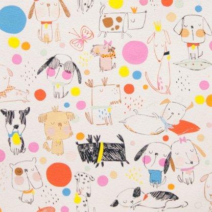 Puppy Polka Dot from Alexander Henry Fabrics