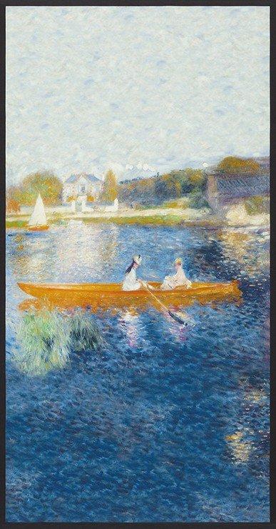 Renoir Water Skiff Panel