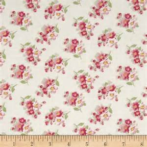 Cherry Blossom Rosey in Ivory