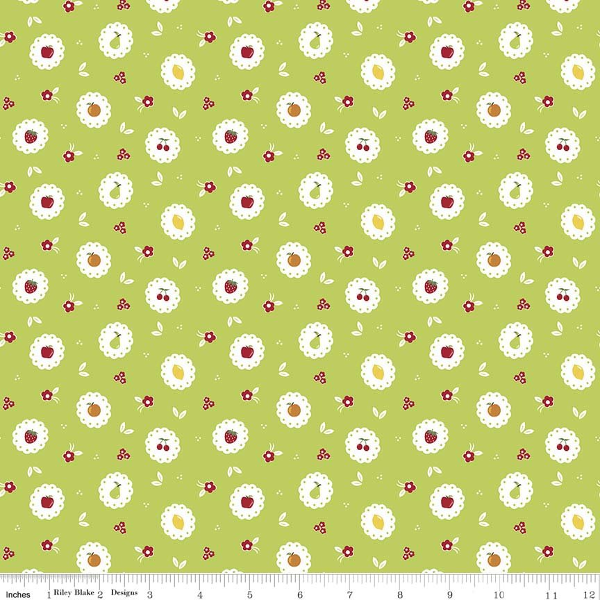 Sweet Orchard in Scallop Green