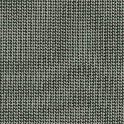 Shetland Flannel Houndstooth Grey