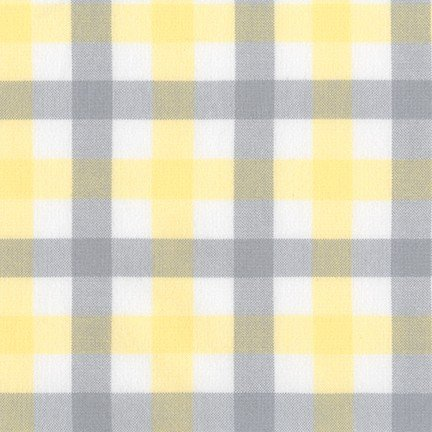 Brooklyn Plaid Flannel in Bumble Bee