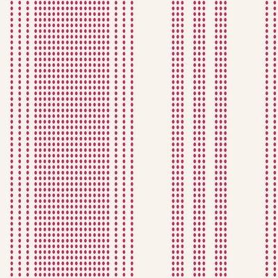Tea Towel Basics -Shortcake Stripes in red