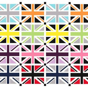 Union Jack in Gray