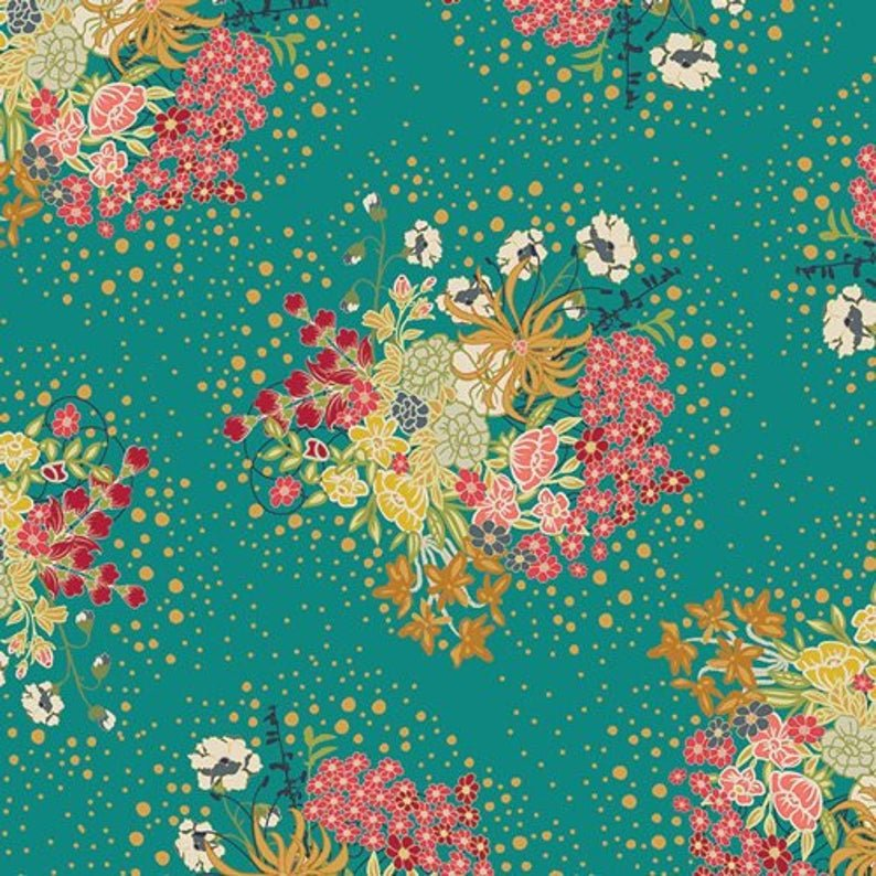 Verdant Bloom by Art Gallery Fabrics