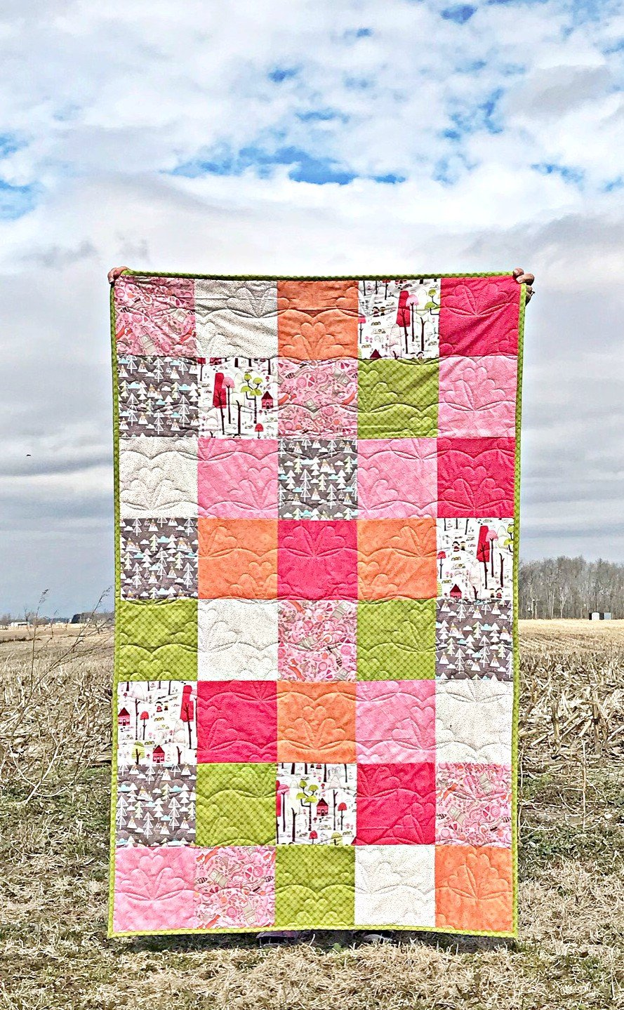 Walk in the Woods Toddler Quilt Kit