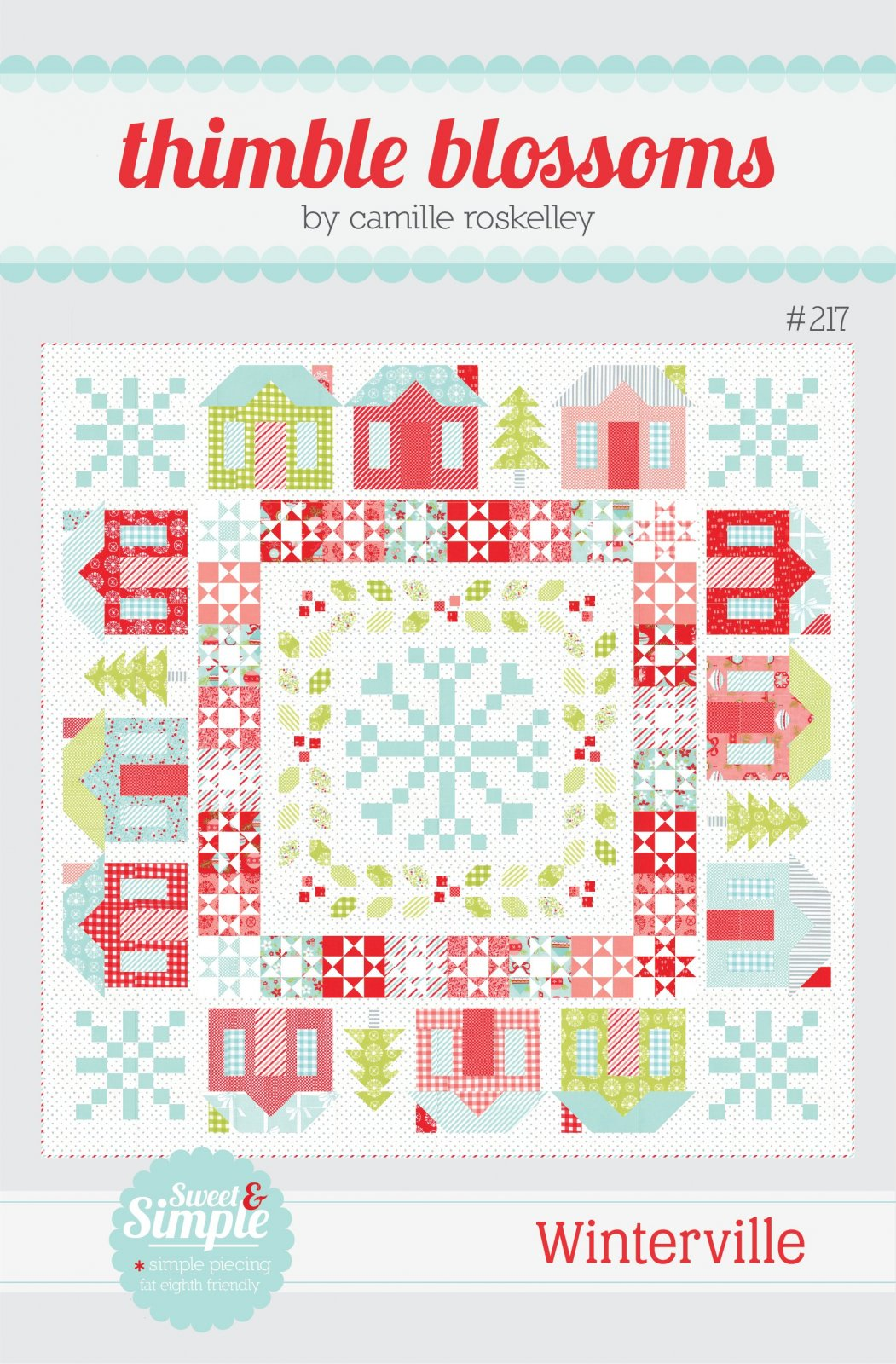 Vintage Holiday--Winterville Quilt Kit