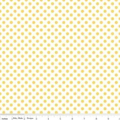 Crazy for Dots & Stripes in Yellow/White