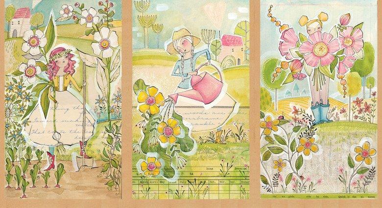 In the Garden Panel