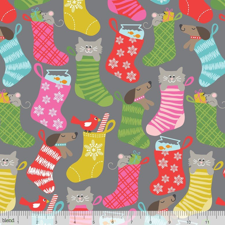 Even A Mouse Stocking Grey