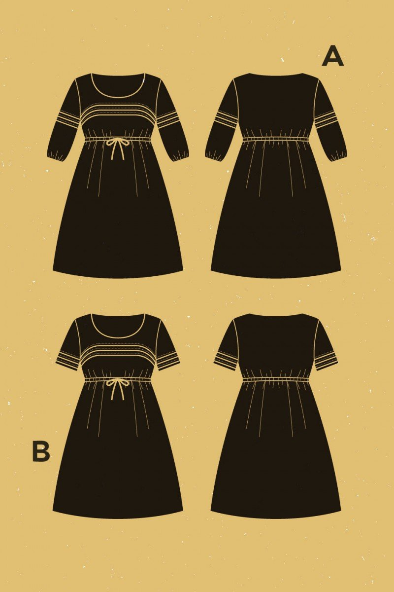 Aubepine Dress