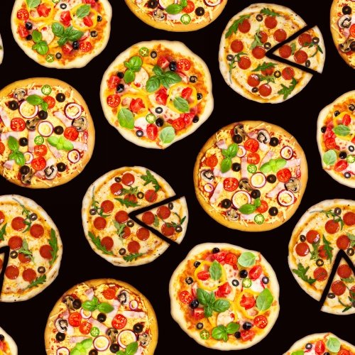 one of a kind- pizza