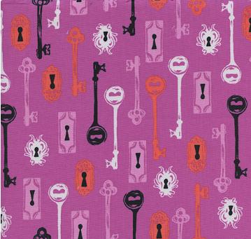 Boo! Skeleton Keys Grape 5085-2