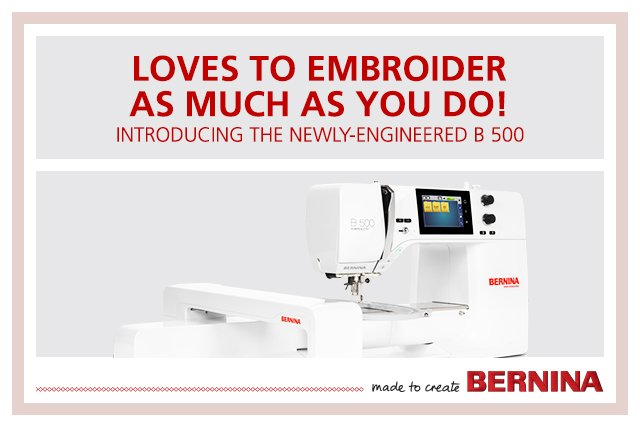 BERNINA 500 Embroidery Only