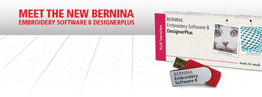 BERNINA Version 8 software